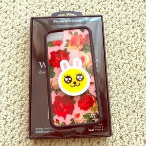 Wildflower Floral Roses iPhone 7/8 Cases